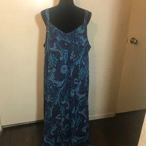 Lane Bryant Designs & Co Maxi Dress Size 26